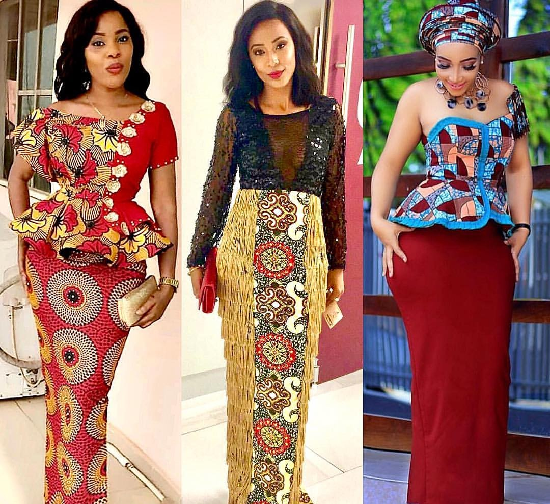 Latest 2019 Ankara Styles with Sauce