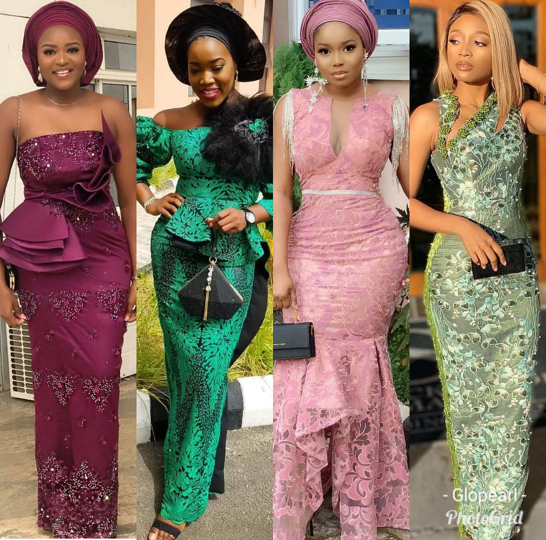 Current Aso ebi Styles