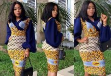 Ankara short gowns