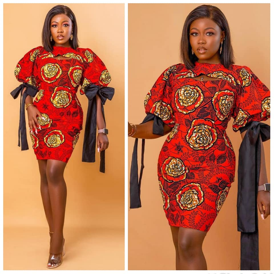 Ankara Short Gowns Styles